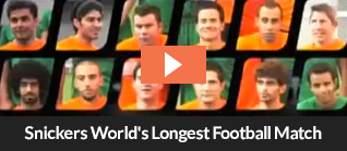 Snickers World Longest Football Match