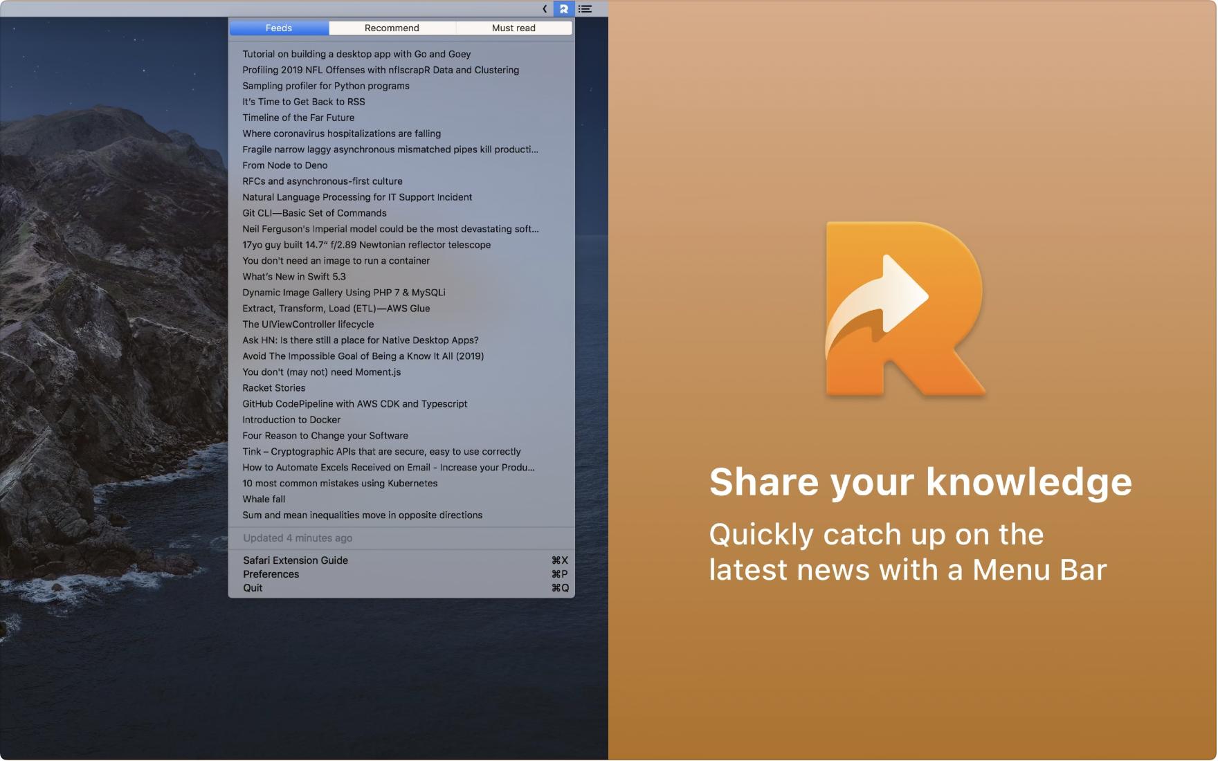 Readify screenshot