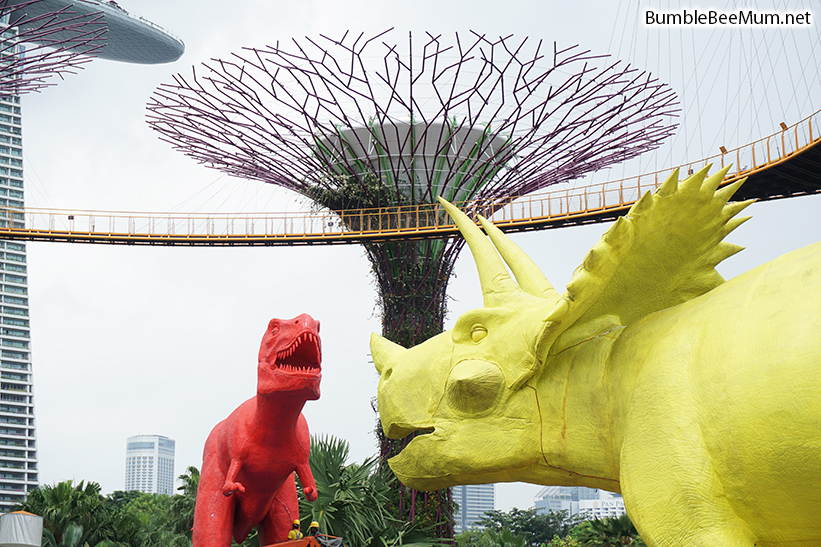 admire the dinosaurs - Garden By The Bay Festival