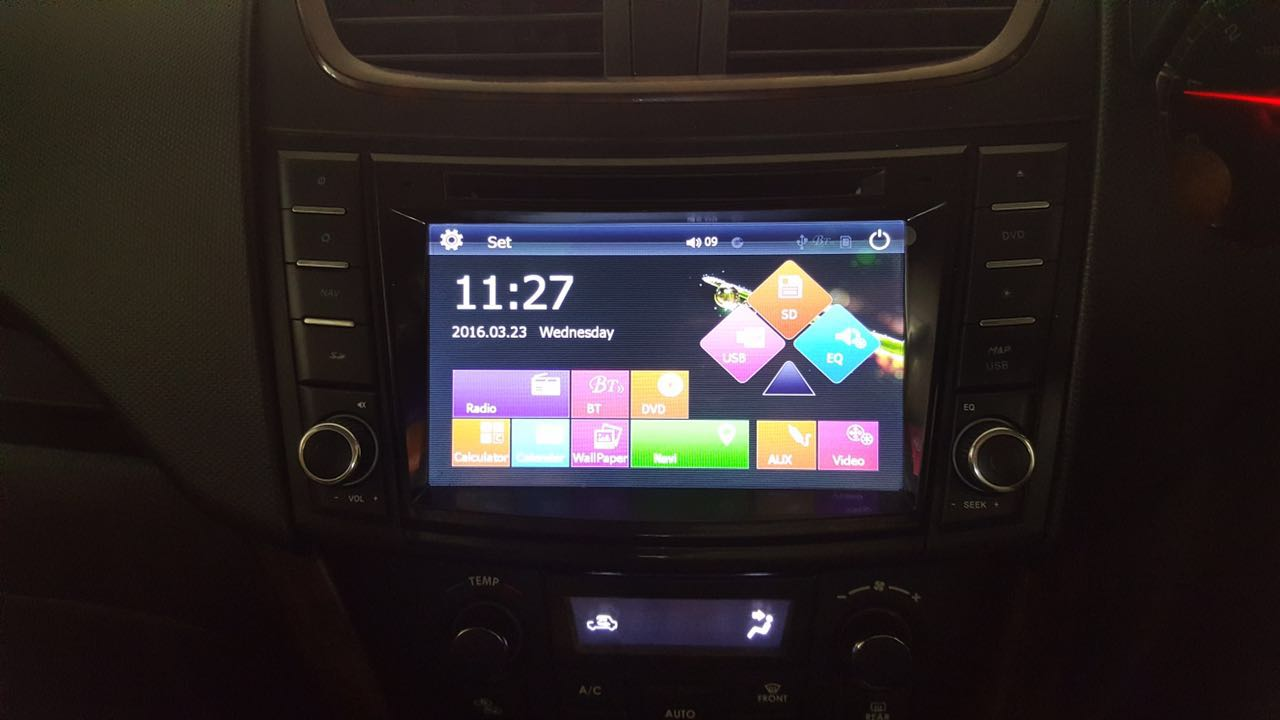 Suzuki Swift Dzire Android 4 4 special Double Din DVD - 7