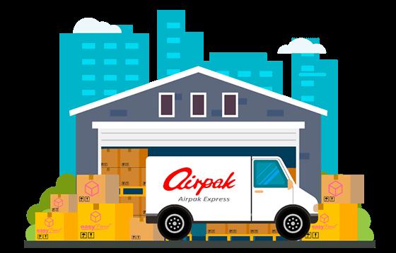 courier airpak banner