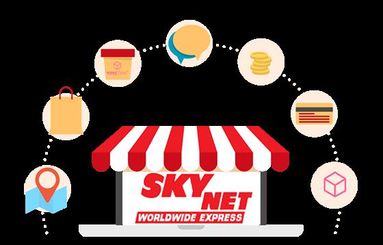 courier skynet banner