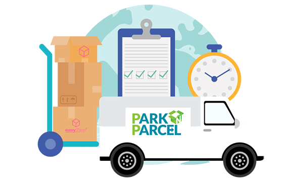 courier parknparcel banner