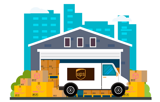 courier ups banner