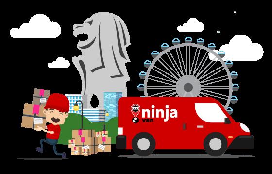 courier ninjavan banner