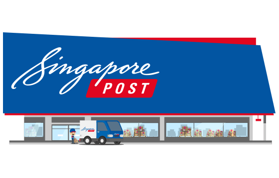 courier SingPost banner