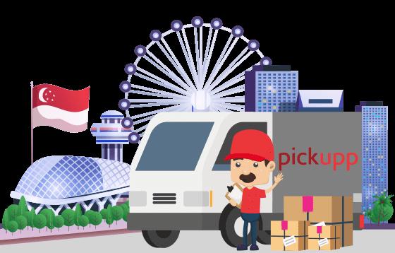 courier pickupp banner
