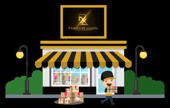 courier Fexprimir Logistic banner
