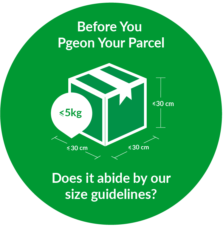 Pgeon Parcel Size Limitation