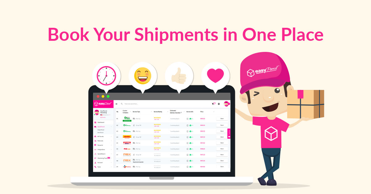 Track & Trace Your Parcel & Shipment Status Easily