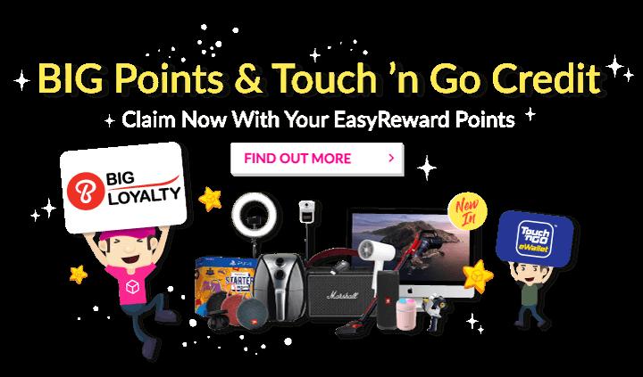 BigPoint Touch'n Go in EasyReward