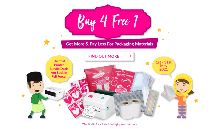 EP Shop May Promo Buy 4 Free 1