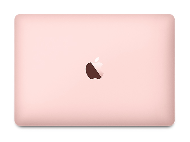 MacBook - Rose Gold