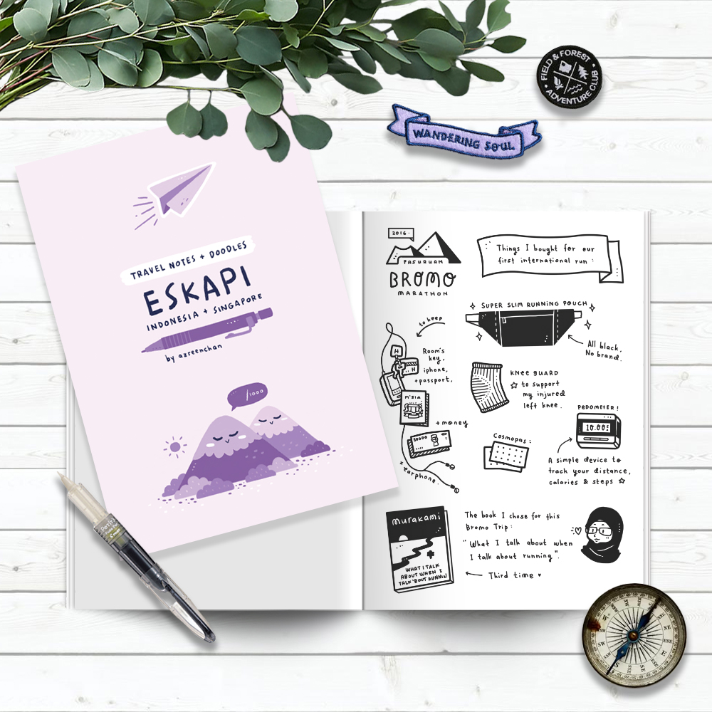 First Self-published Travel Journal