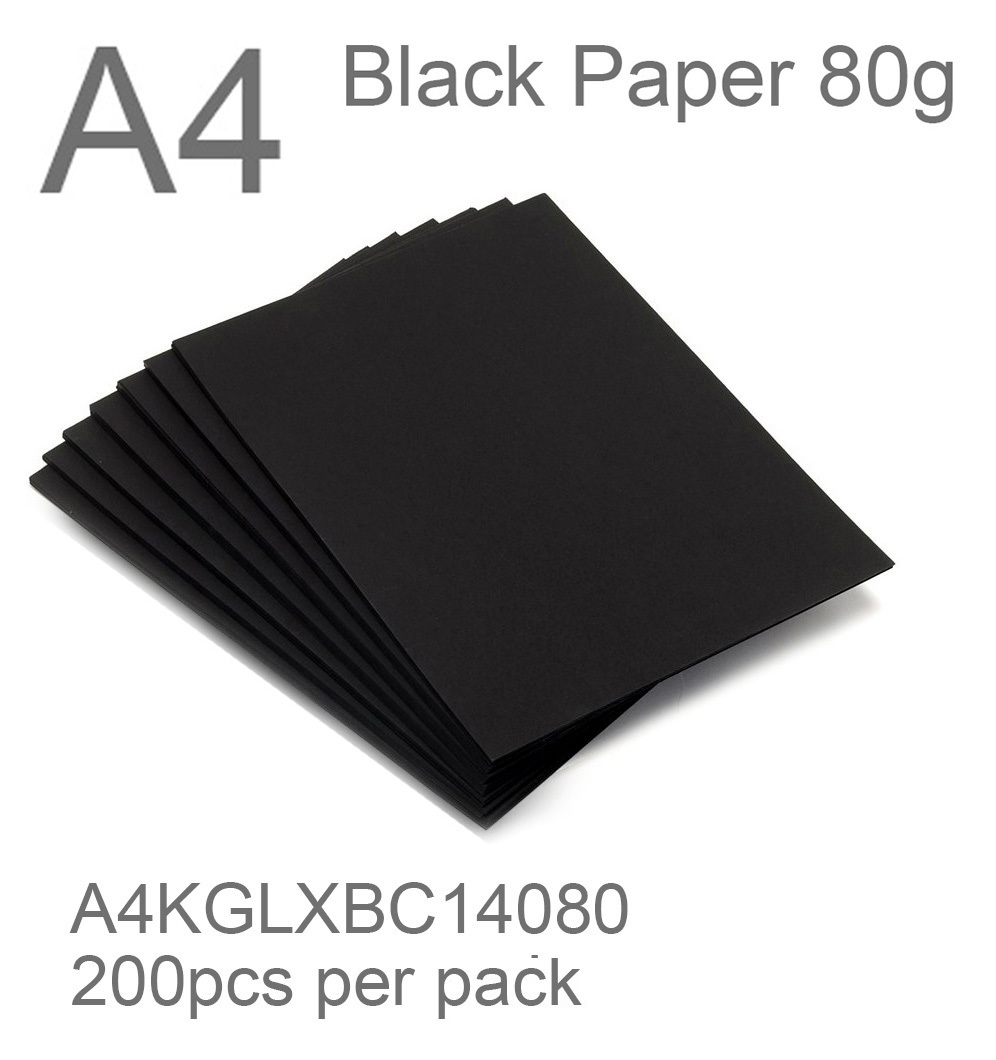 black paper A4 80g black card 2 side thefancypaper.jpg