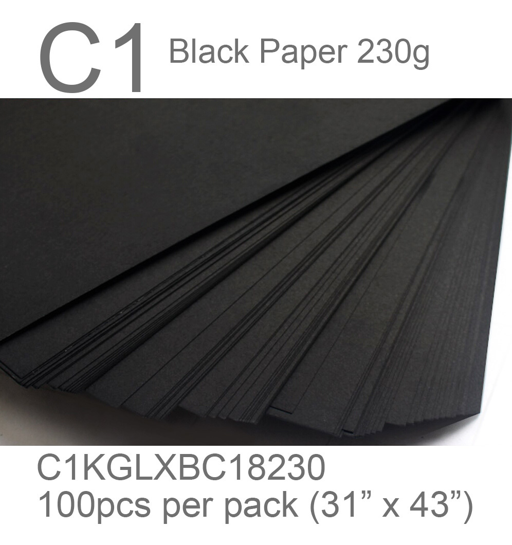 black paper c1 230g black card 2 side thefancypaper.jpg