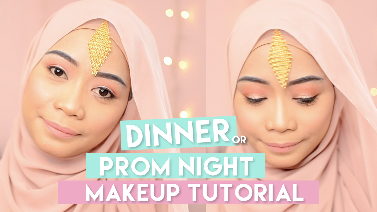 DINNER / PROM NIGHT MAKEUP TUTORIAL EASY AND SIMPLE
