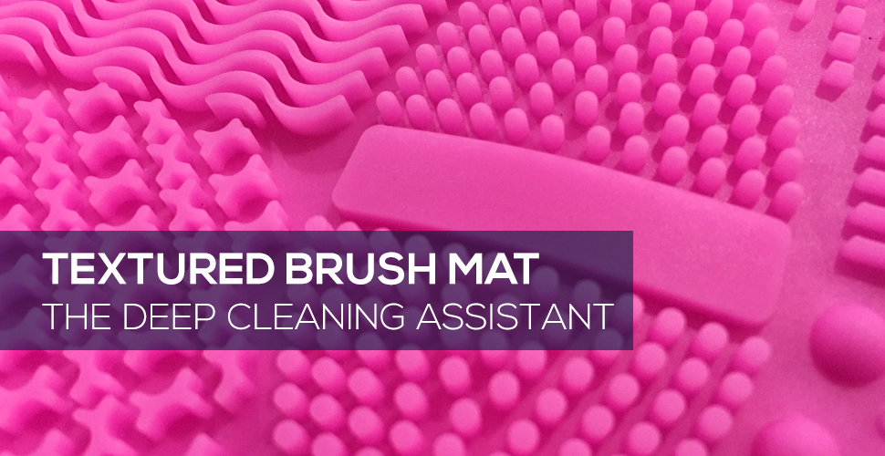 Textured Brush Mat