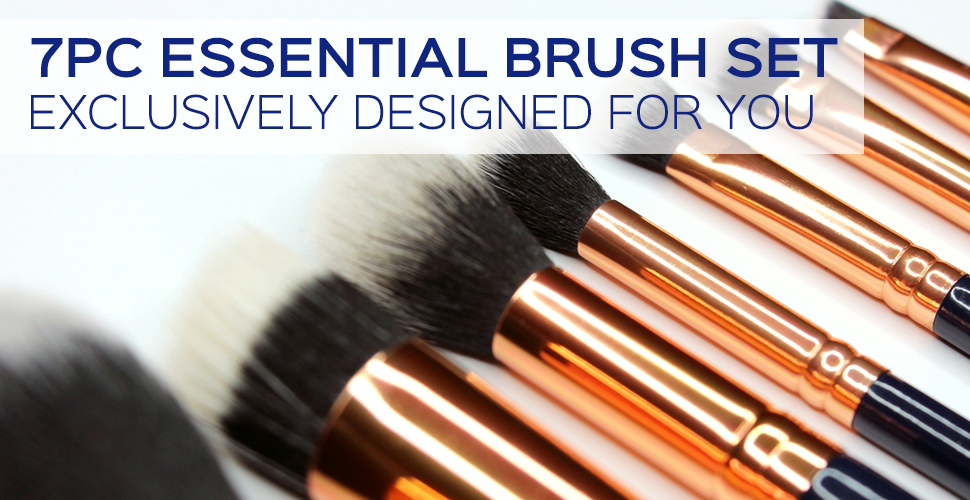 7pc Essential Brush Set