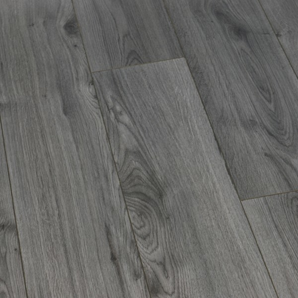 Luxury Plus 7mm Millennium Oak Grey Laminate Flooring 8