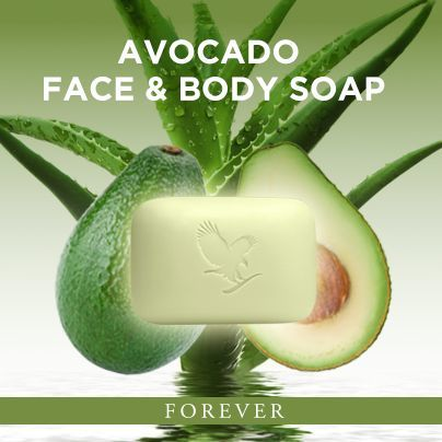 Avocado Face and body soap sihatforever.jpg