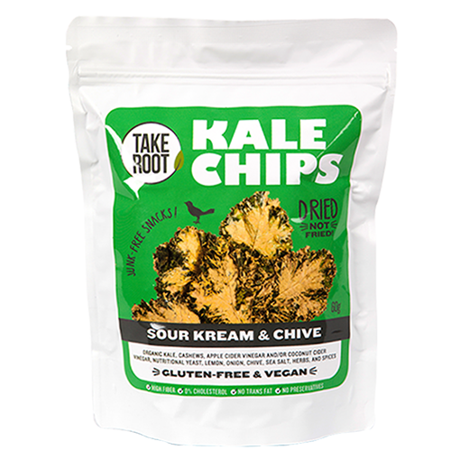 Take Root Kale Chips Sour Kream & Chive – FoodSource PH