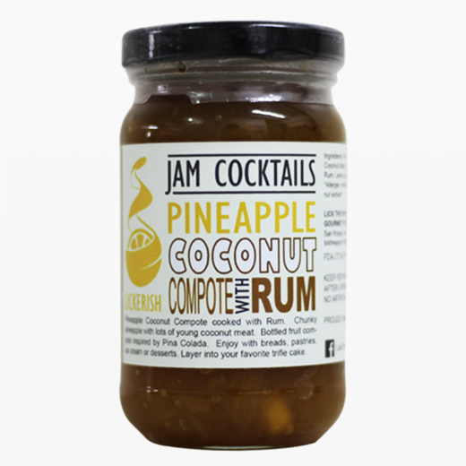 Lickerish - Jam Cocktails - Pineapple Coconut - Compote with Rum.jpg