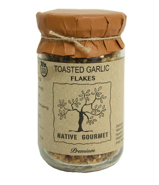 Native Gourmet Toasted Garlic flakes.jpg