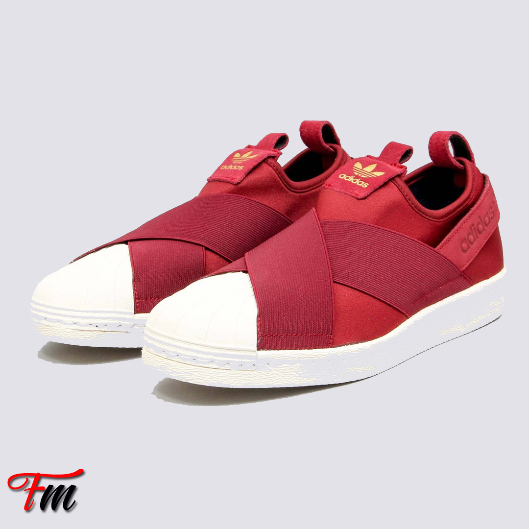 adidas superstar slip on shoes red 1a2e06b22