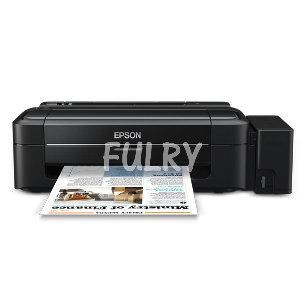 Epson L310 Printer With Fulry Art Pigment Ink Cmyk Fulry