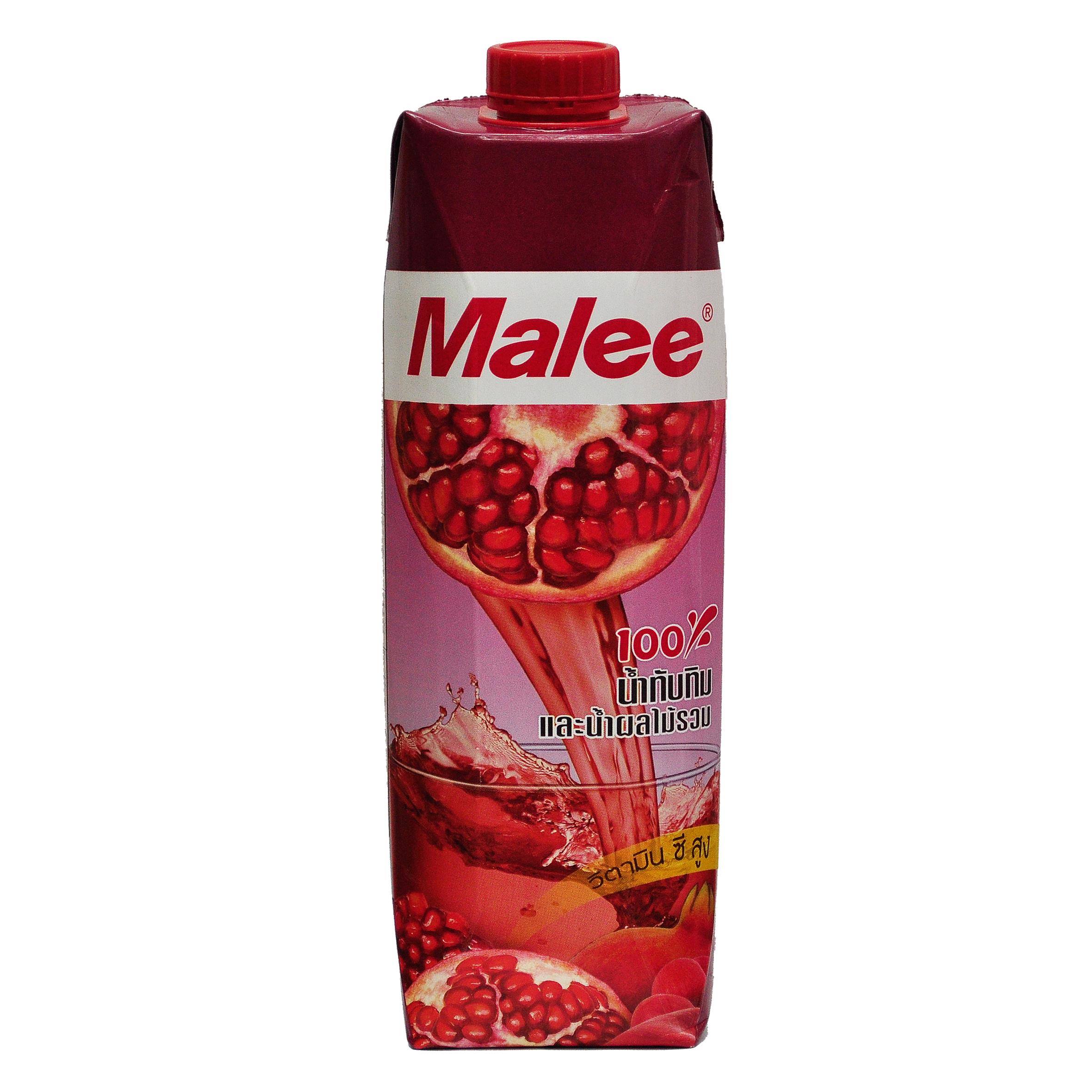 Malee 100Percent Pomegranate and mixed Fruit Juice Thai Side.jpg