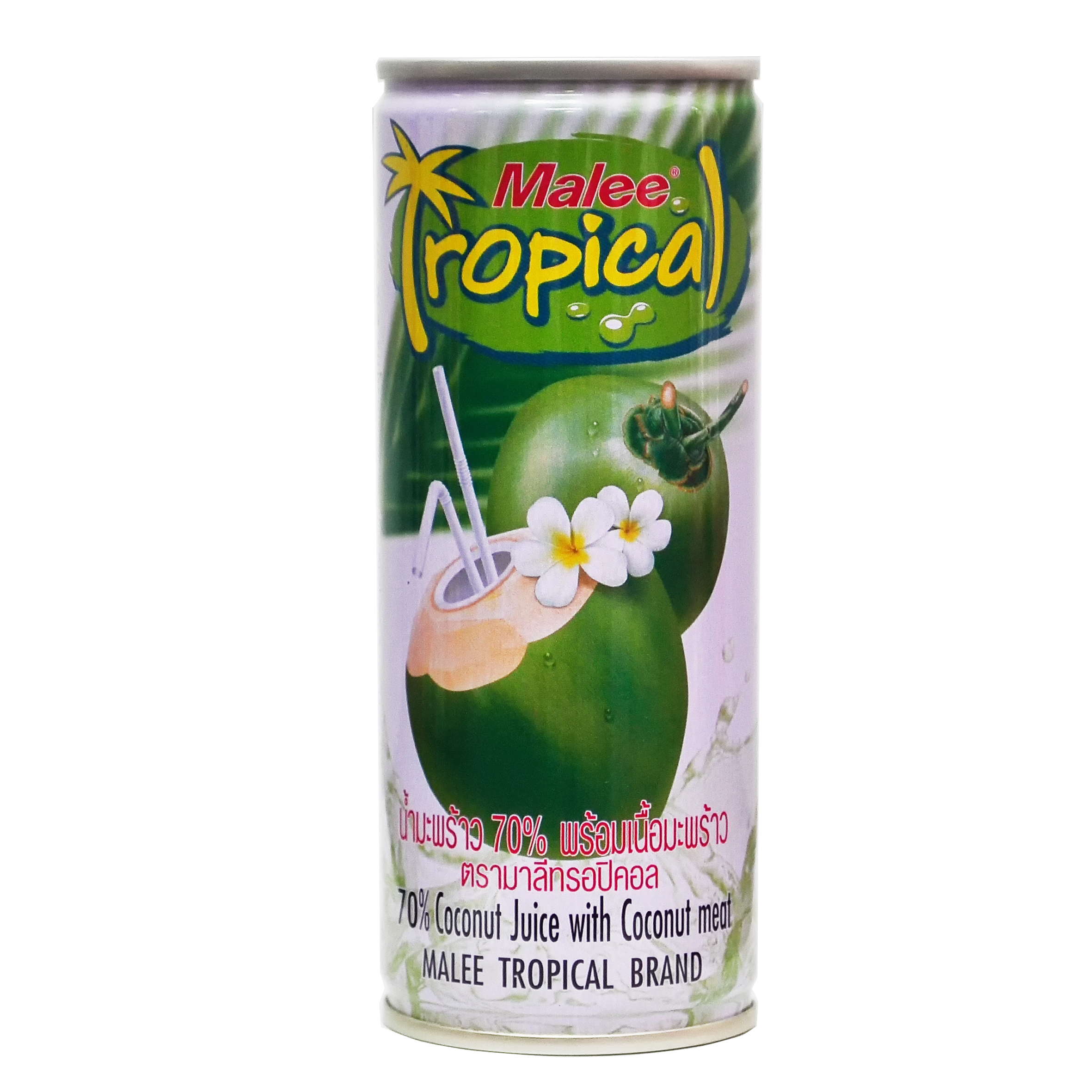 Malee Coconut Juice with Coconut Meat Tropical Front.jpg