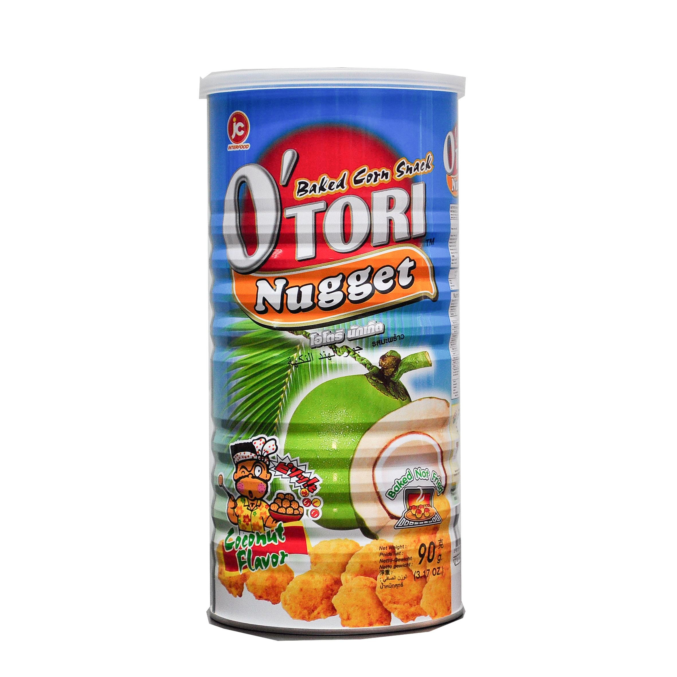 Otori Baked Corn SNack Nugget Coconut Flavour Front.jpg