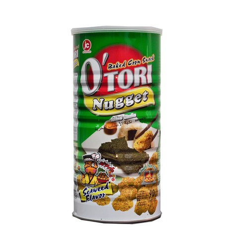 Otori Baked Corn SNack Nugget Seaweed Flavour Front.jpg