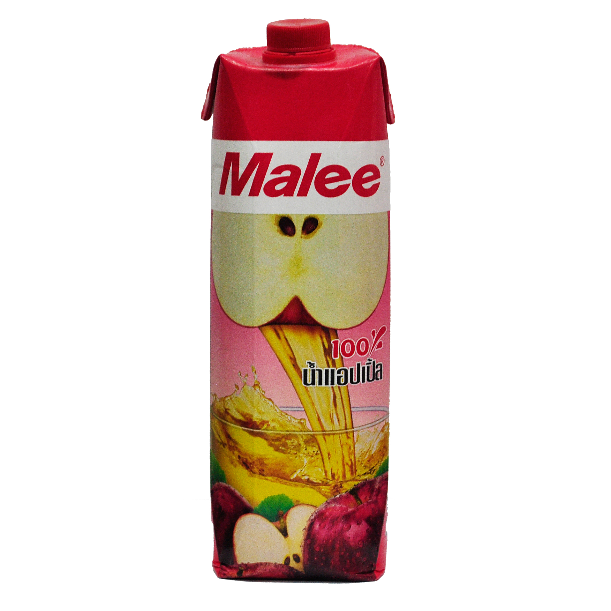 Malee 100percent Apple Juice 1000ml Thai Front.jpg