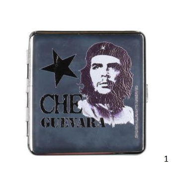 Cool cigarette case metal Che assorted f. 20 cigarette 1 (606560).png