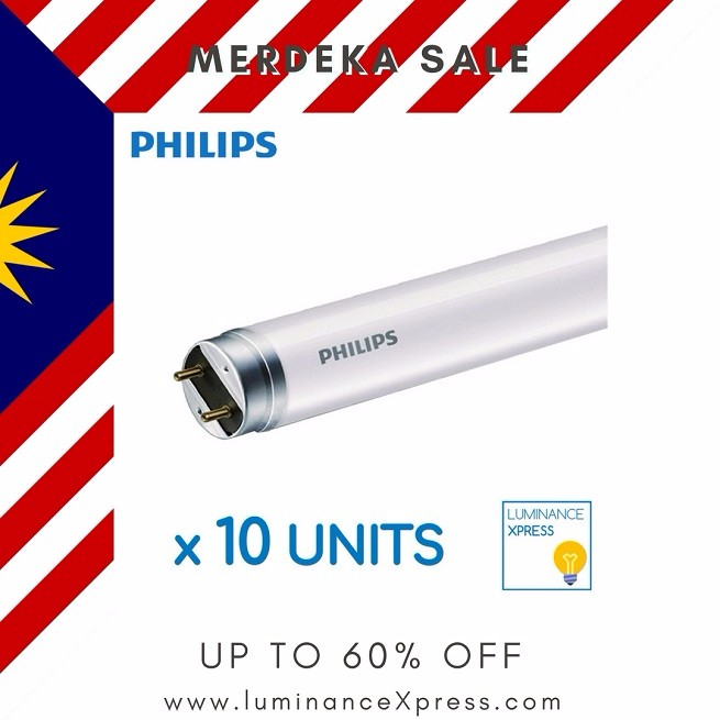 Merdeka Sale! Up to 60% Off.  Do not wait, light up your home with energy saving LED lights today!