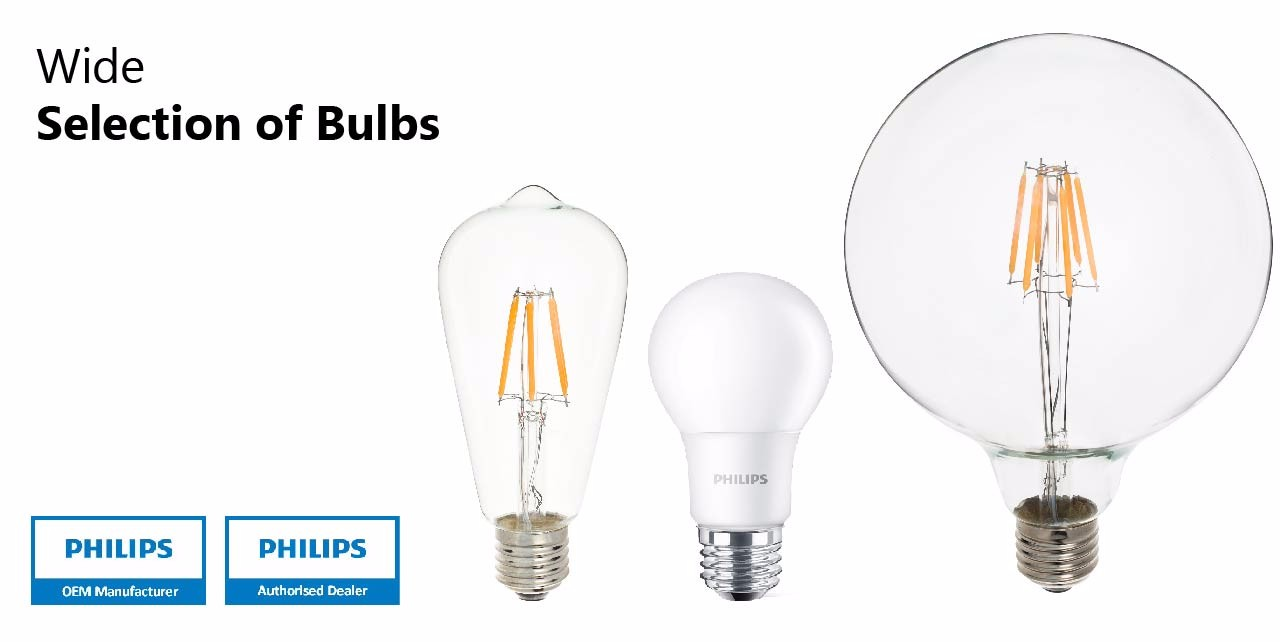 Philips LED Bulbs & Groove LED Edison Bulbs Energy Saving