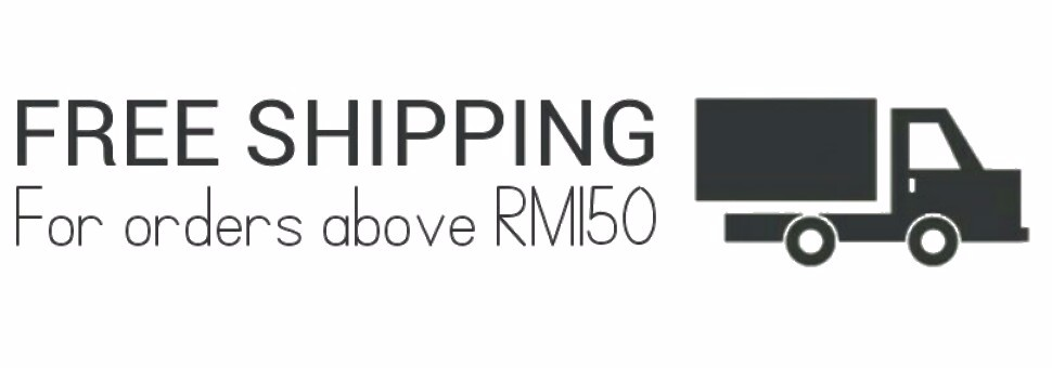 free shipping above RM150