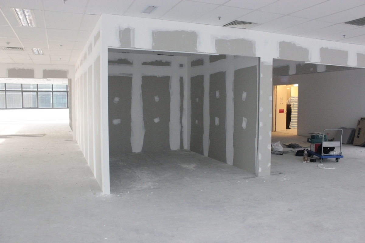 Low Partition Gypsum : Renovation dynamic office solutions