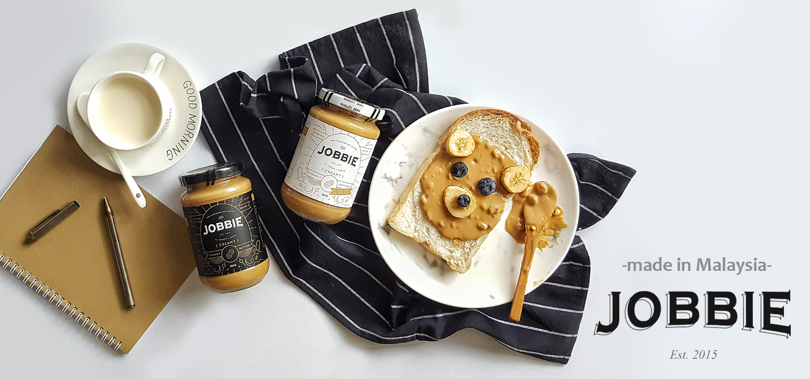 Jobbie Nut Butter made in Malaysia