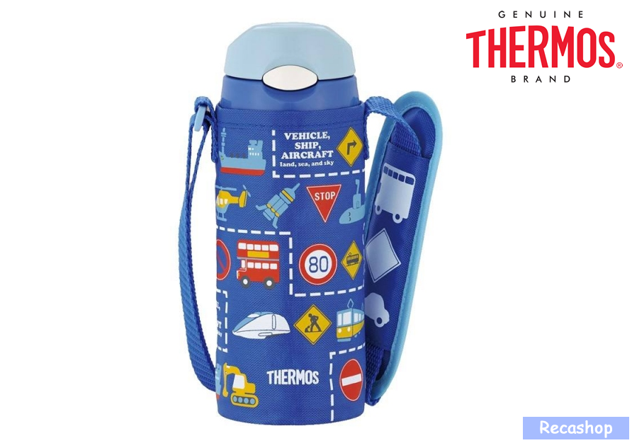 400ml Insulated Straw Bottle with Pouch traffic.fw.png