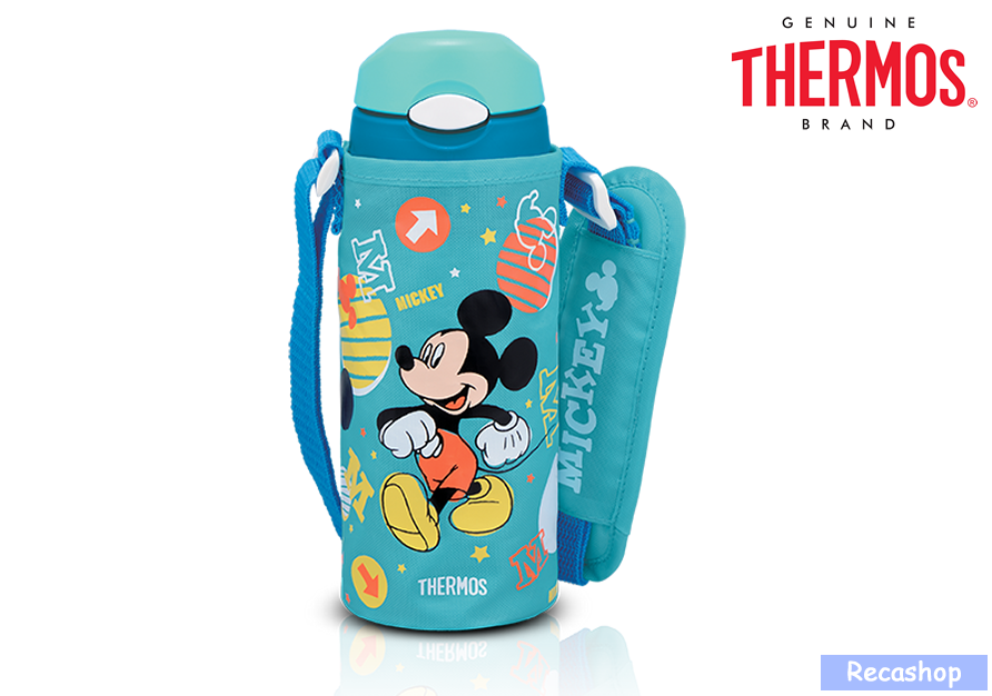 355ml Straw Bottle with Pouch-mickey.fw.png