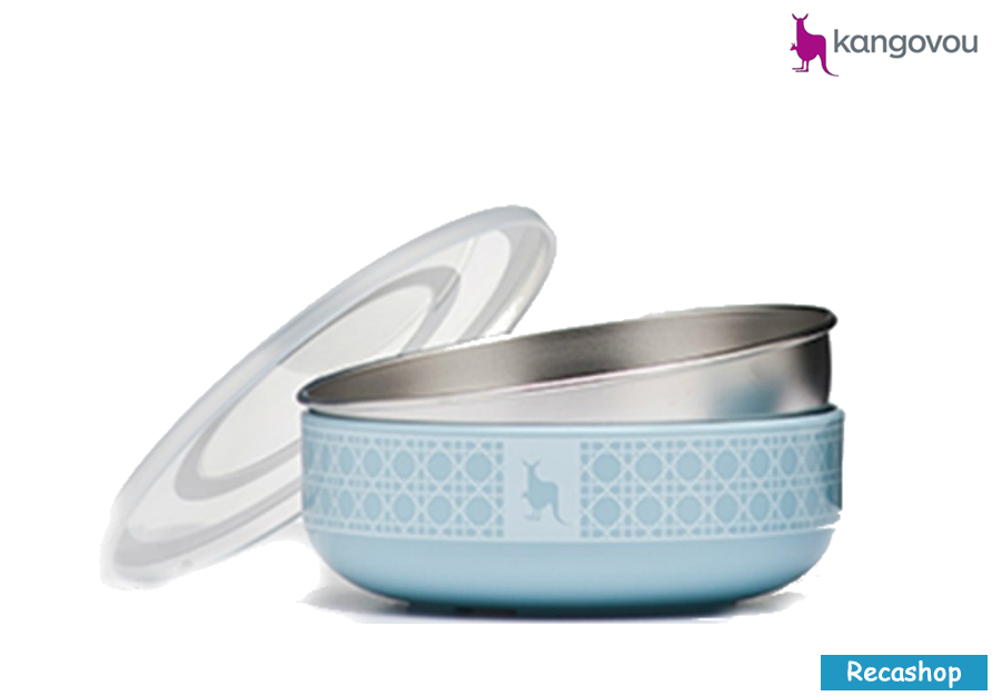 Kangovou Cereal Bowls - 10 oz Frosted Blueberry.fw.png