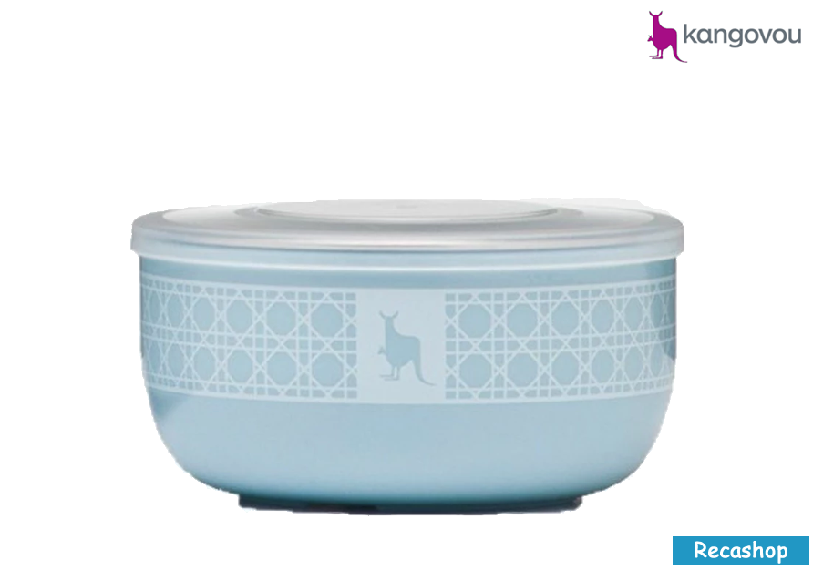 Kangovou Snack Bowls - 10 oz Frosted Blueberry.fw.png