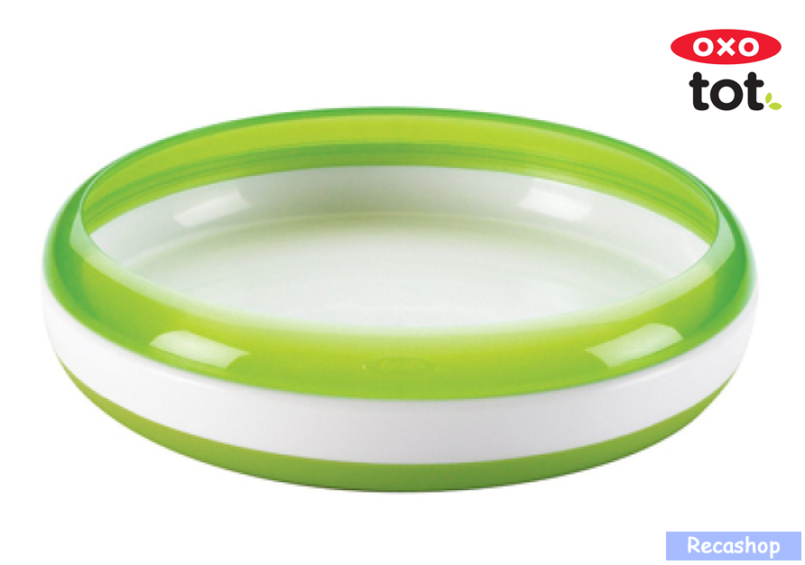 Oxo Tot Training Plate with Removable Ring (Green).fw.png