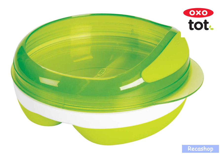 Oxo Tot Divided Feeding Dish with Removable Ring  (Green).fw.png