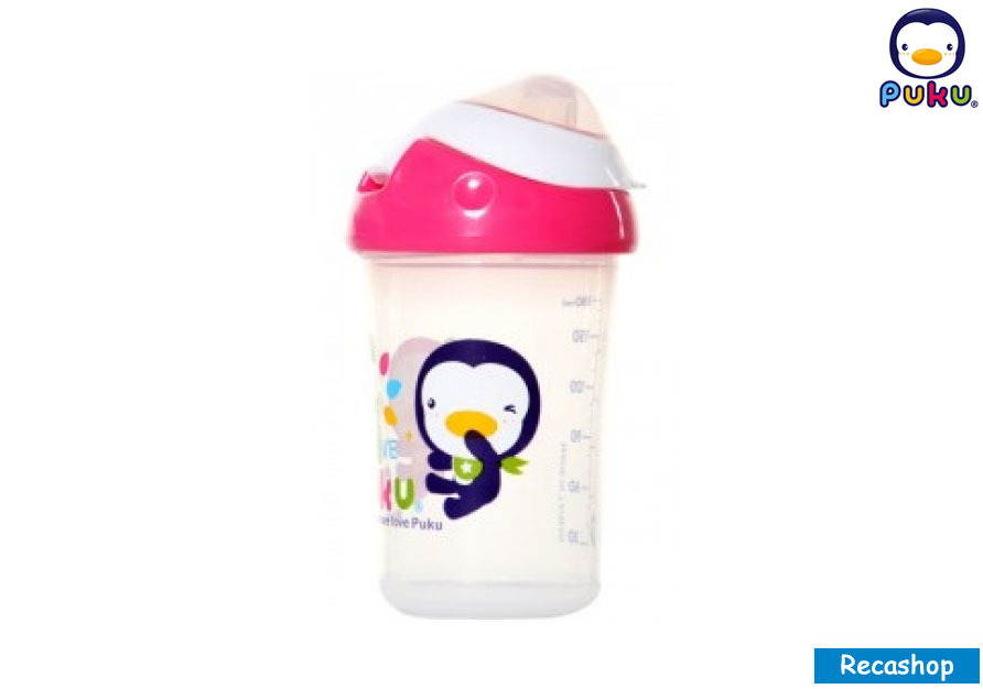 puku spout cup 180ml red.jpg