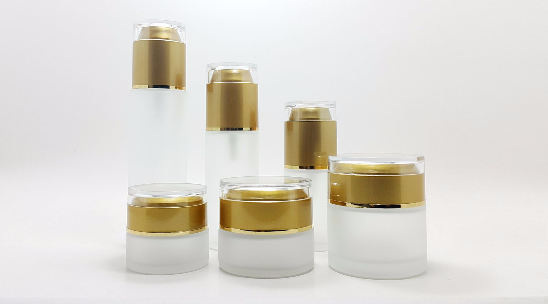 Cosmetic Glass Bottles and Jars