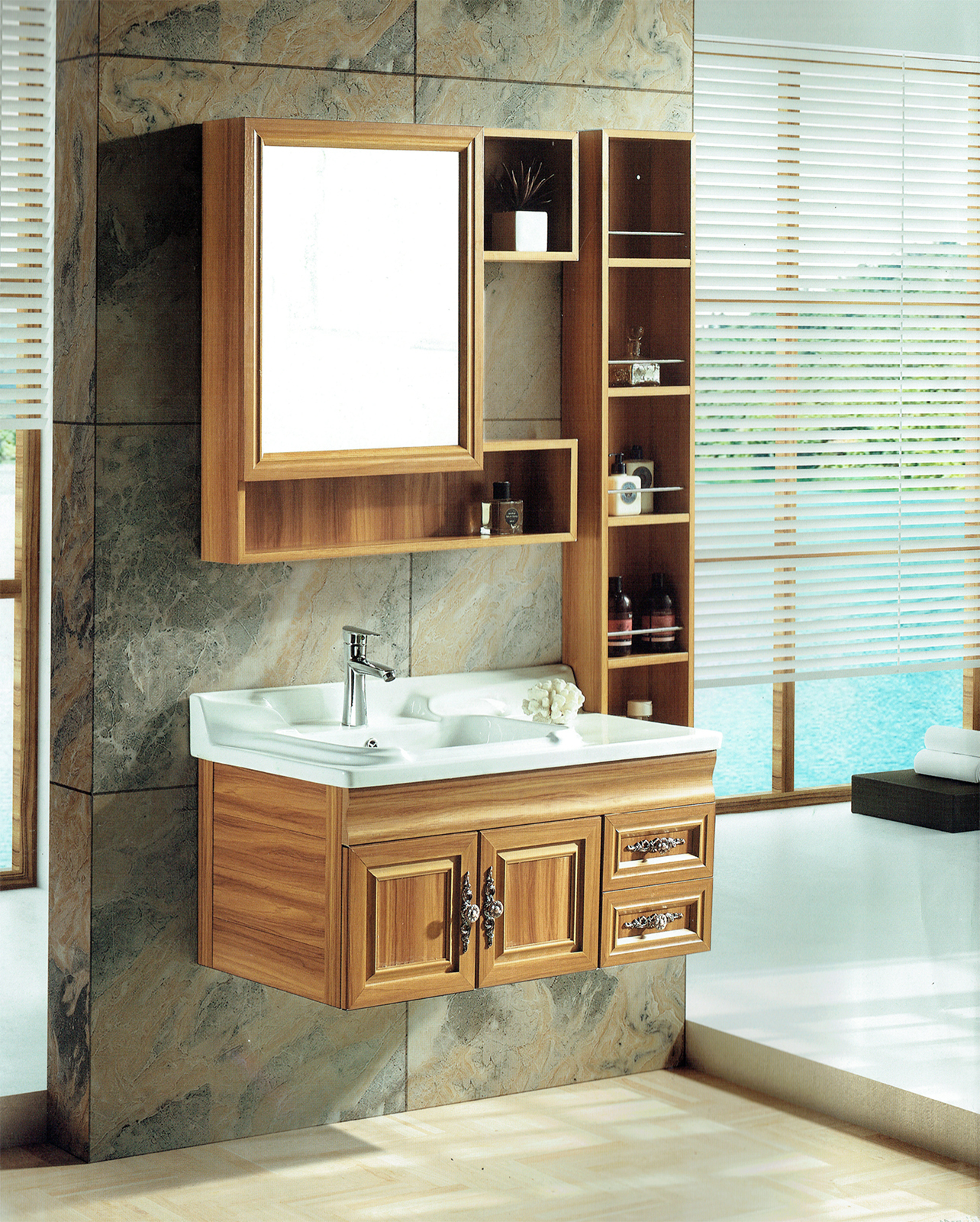 Basin with cabinet JR 3750 mirror and side cabinet.jpg